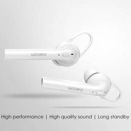 Wholesale Wireless Headsets For Tablets - Dacom Bluetooth Earphones Twins TWS Earbuds Wireless Sports Headphones Stereo Music Headsets Iphone7 plus Samsung Huawei Xiaomi Tablet PC