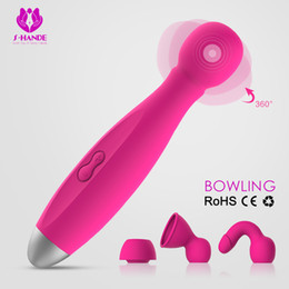 Wholesale sex tool machine - Vibrator Sex Toys For Woman Magic Tools For Sale Several Modes Waterproof Sex Machine AV Stick Charging Sex Toy