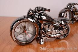 2019 relógios de mesa de cerâmica Despertador relógio digital despertador relógio de mesa Presente de estudante de motocicleta