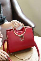 Wholesale Elegant Fashion Handbags - 2017 Fashion New Elegant Lady Business High Range Doctor Bag Designer Handbags High Quality Tote Bags Leather Shoulder Bag