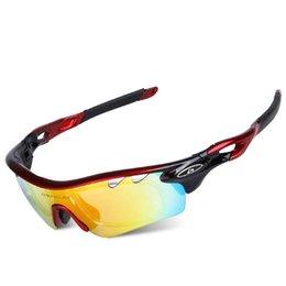 Wholesale Radarlock Polarized - Radarlock 5 Lens Cycling Eyewear Polarized MTB Glasses Bicycle Sunglasses Sports Ciclismo Gafas Deportivas Road Bike Goggles