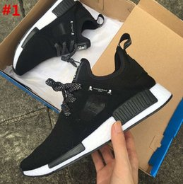 Wholesale Clear Plastic Men Shoe Box - 2017 With Box new Free 12 color NMD XR1 Duck Camo X City Sock Pk Wool Boost for Top quality Fashion Casual Shoes Men Women Kids Size 36-45