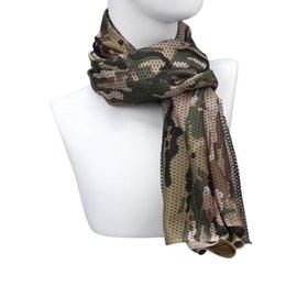 Wholesale Multipurpose Scarves - Wholesale- Stylish 160*45cm Ladies Army Outdoor Dustproof Cycling Multipurpose Camouflage Scarf women Manggeon Neckerchief