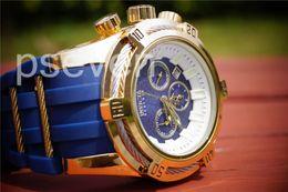 Wholesale Best Military Watches - Mens Watches Top Luxury Brand INVICTA Men BEST GIFT Watches Quartz Watch Analog Waterproof Sports Army Military WristWatch