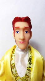 Wholesale Male Dolls For Girls - One Pcs Popular Boyfriend Prince Ken Male Doll Head For Prince Doll For Barbie Frozenfriend Doll Accessories
