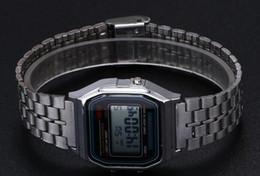 Argentina Venta al por menor Venta al por mayor - Envío gratuito F-91W Relojes f91 Moda: finos relojes LED de cambio Reloj deportivo F91 W SO211 Suministro