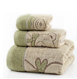 Wholesale Wholesale Bath Sheets Towels - PASAYIONE Durable Drying Bath Sheet Travel Gym Camping Sport Set Of 3 100% Cotton Bath Towel Face Clothes Playa For Adults Kids