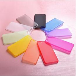 Nouvelle arrivée souple en plastique mat couvercle protecteur pour iphone 4 4s 5 5s se 5c 6 6s 6 plus 7 7 plus 8 8 plus X 4,7