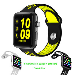 Wholesale Iphone Rates - LF07 plus sport Smart Watch Support SIM Card MTK2502 Sync Notifier Bluetooth SmartWatch For apple iphone Android Phone