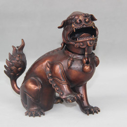 discount bronze statues dog bronze foo dog statues 2019 on sale at