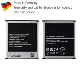Wholesale Galaxy Phone Battery - AAA high quality for Samsung galaxy s4 GT-I9500 i95002 i9505 B600BE B600BC cell mobile phone battery Germany stock free duty dhl fast ship