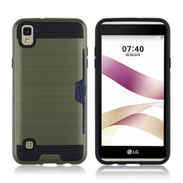Wholesale Retail Package For Stylus - For LG X SKIN LV3 Stylus 3 Stylo 3 LS775 G5 G6 Shockproof Metal Polish Case Mars Protector with Retail OPP Package