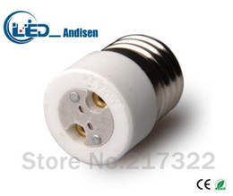 lamp gx53 Coupons - E27 TO MR16 adapter Conversion socket High quality material fireproof material GX53 socket adapter Lamp holder
