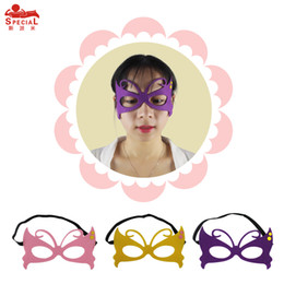 Wholesale Birthday Gifts For Woman - Butterfly 3masks(20*20)one set for kids birthday or Halloween Christmas gift outdoor parents-campaign Masks party Carnival cosplay