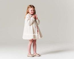 Wholesale Down Coat Girl Sale - Ins Hot sale Autumn Winter Children Coat Long woolen Girls overcoat Kids Outwear Girls Coats Girls Clothes Fashion topcoat A1282