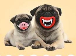 Wholesale Halloween Desserts - Halloween pet molars toys novelty funny dog dessert sound toys G783