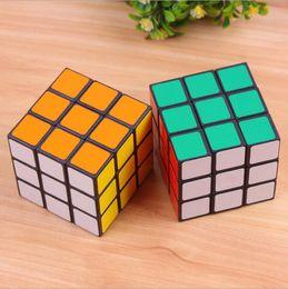 Wholesale Rubix Cubes - MOQ 100pcs Rubics Cube Rubix Cube Magic Cube Rubic Square Mind Game Puzzle for Kids (Color: Multicolor) 5.3x5.3x5.3 cm