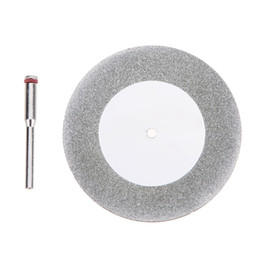 Wholesale Tool Steel Saw Blades - 60mm Diamond Cutting Disc for Mini Drill Dremel Tools Accessories Diamond Disc Steel Rotary Tool Circular Saw Abrasive Saw Blade