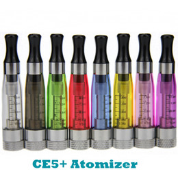 Wholesale Ego Clearomizer Wickless - Ego CE5 Plus rebuildable clearomizer CE5+ wickless atomizer 1.6ml for Ego 510 all eGo Series
