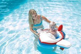 Wholesale Intex Pools - INTEX Cartoon Children Baby Swimming Pool Swim Seat Ring Float For 0-2 Years Rattle inside,Fire Rescue, Patrol Boat AA