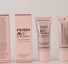 Wholesale Primer For Nails - Hot sale Foundation Primer Makeup Face Cosmetics Primed and Poreless 28g 1 Ounce DHL FOR FREE GIFT