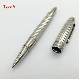 Wholesale Colorful Art - Novelty pen Luxury MB-Pen colorful Short Rod Hommage a W. A. Mozart Small Roller Ball Pen Custom gifts cute Pen