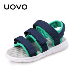 Wholesale Casual New Design For Boys - UOVO 2017 New Kids Sandals Boys Summer Shoes Open Toe Beach Shoes For Children Casual Comfortable Europe America Style Design