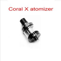 Wholesale Quality Taste - Electronic cigarette Atomizers smoke taste coral X vaporizer tank mini Nautilus 2ml capacity safe instock HotSale and High Quality