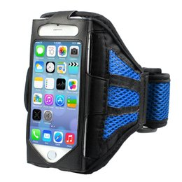 Wholesale Plus Equipment - Wholesale-Outdoor Universal Sport Mobile Phone Running Armband Arm Band iPhone 6 Plus Case Wallet (5.5 Version) Fitness Gym Equipment Gift