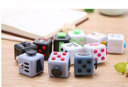 Wholesale 2017 colors figet cube induction finger gyro children s toys party gifts Decompression toys hot sale