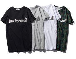 Wholesale Women T Shirt Xxl - 2016 Gosha Rubchinskiy Brand T shirt Men Solid Cotton GOSHA T-shirt 2017 Summer New Fashion Harajuku Short Sleeve Tee shirt Women XXL