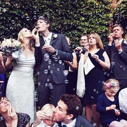 2019 sagome di poltrone usate Nuova bottiglia di bolla a forma di cuore calda Tubo di bottiglia di bolla di sapone da sposa vuoto con maniglia a forma di cuore Bomboniera per matrimonio