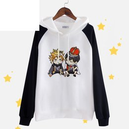 Wholesale Q Up - Wholesale- High-Q Haikyuu!! Hoodies & Sweatshirts Sweatshirt Cosplay Hinata Syouyou kageyama tobio Haikyuu!! hoodie Hoodies & Sweatshirts