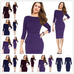 Wholesale Optical Summer Dress - 2017 New Womens Elegant Mesh Embroidered Patchwork Optical Illusion Wear to Work Office Party Stretch Bodycon Fitted Dress Size S-2XL