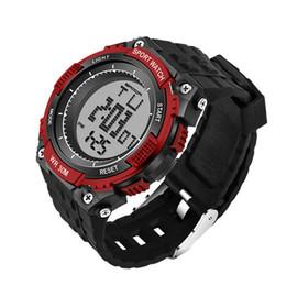 2019 los mejores relojes digitales a prueba de agua. Best Selling New Brand Sanda Watch Men Relojes deportivos militares Fashion Silicone Waterproof Led Reloj digital para reloj de lujo los mejores relojes digitales a prueba de agua. baratos