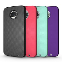 Wholesale For Moto Z Case Hybrid Anti skid Armor Hard Heavy Duty TPU Protection Phone Cover Case for Moto Z Z Droid