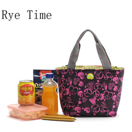 Wholesale Lunch Bag Ice Pack - Wholesale- 2015 High quality brand thermal picnic shopping bags insulated cool bag ice pack bag thermo lunch box handbags