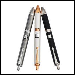 2017 новейший воск электронная сигарета ручка испаритель электронные восковые концентраты курение мазок ручка карман клип шариковая ручка стиль испаритель ногтей комплект от