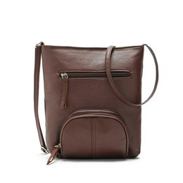 Wholesale Top Quality Girls Messenger Bags - Wholesale-2016 Hot Sale Fashion Casual Women Girl Leather Satchel Shoulder Bag Cross Body Messenger Bags bolsa feminina Top Quality