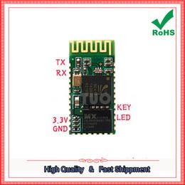 Wholesale Master Serial - Free Shipping 3pcs BC04-B Master-Slave Bluetooth Serial Adapter Bluetooth Serial Module Serial Module (A1M4)