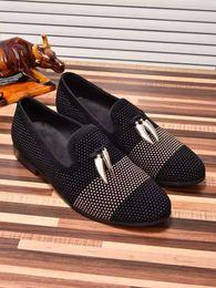 Wholesale European Fashion Heels - Men Fashion European Style Casual Formal Shoes Genuine Leather Men Luxury Wedding Shoes Brand Designer Loafers Size 38-45