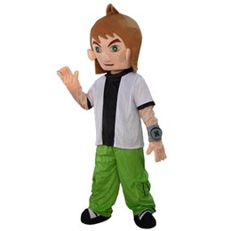 Wholesale Holiday Clothing For Boy - 2016 Hot Sale The boy mascot costume fancy dress Interesting clothing Animated characters for part and Holiday celebrations