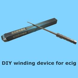 Wholesale Wind Shops - Ecig DIY mod atomizer Universal tools Ecigarette bobbin winder resistance wire winding rod heating coil bobbin winder for ecig free shopping
