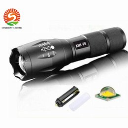 Wholesale Led Flashlight Uniquefire - G700 E17 CREE XM-L T6 3800LM Aluminum Zoomable LED Flashlights Torches lamplight for 18650 Rechargeable or AAA Battery