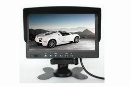 Canada Moniteur de bureau de voiture TFT de 7 pouces PZ708 800 RVB 480 PAL NTSC CC 12 V 24 V Entrée vidéo 2 voies, affichage automatique lors de l'inversion Offre