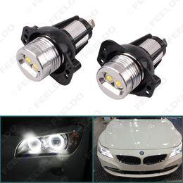 Wholesale Bmw 328i - FEELDO White Angel Eyes Cree 6W LED Halo Ring Marker for BMW E90 Pre-Facelift Sedan E91 Pre-Facelift Touring 325i 328i 335i 335xi SKU:5366