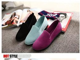 Wholesale Sleep Shoes - 2017 Spring and Autumn Summer New Women's Flat Sleeping Comfort Pregnant Student Student Shallow Car Shoes Shoes Women's Size 35-39