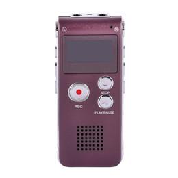 Wholesale Speaker Mp3 Flash Drive - Wholesale- Black 8GB Brand Mini USB Flash Digital Audio Voice Recorder 650Hr Dictaphone MP3 Player Pen Drive Grabadora