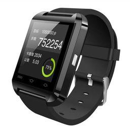 U8 sport u guardare online-Bluetooth Smart Watch U8 Smart Orologi Smartwatch da polso Digital Sport U Orologi per Apple IOS Android Phones Wearable Electronic