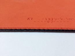 Venta de alta calidad esponja roja 05 FX hoja de goma tenis de mesa tenis de mesa raqueta de tenis de mesa envío gratis desde fabricantes